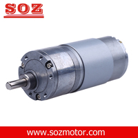 CE 37mm diameter DC geared motor