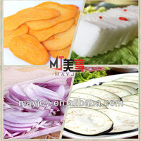 Sweet potatoes/onion/potatoes and other similar round vegetables cutting machine