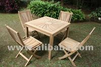 High Quality Outdoor Solid Teak Wooden Garden Furniture