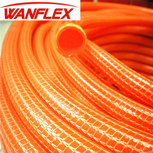 1 inch Knitted fiber braided pvc flexible hose for garden use