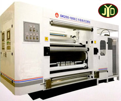 Single Facer/Henan High Speed Three Cards Rotary Corrugated Machine