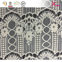 Multicolor fashionable wholesale beaded cord tulle lace fabric