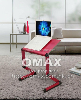 Applied movable laptop desk laptop stand computer desk OMAX