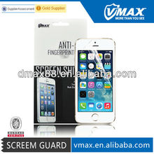 Free Sample High transparant Ultrathin Anti-Water Anti-Oil smart phone screen protector film for iPhone 5 5c 5s