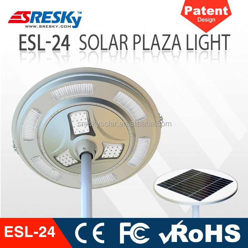 30W motion sensor Waterproof Solar led Street light panel