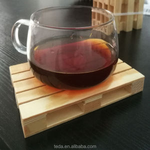 Mini Wooden Pallet Coasters Drink Wood Beverage Cup Mat Miniature Bar