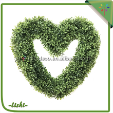 Online Wholesale Green New arrival Artificial hand weaving willow wreath