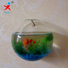 Wall borosilicate glass fish tank