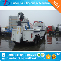 DONGFENG sinotruck faw howo 315hp 8*4 Heavy Duty 8ton Rotator Wrecker Tow Truck Rotator Recovery Truck for sale