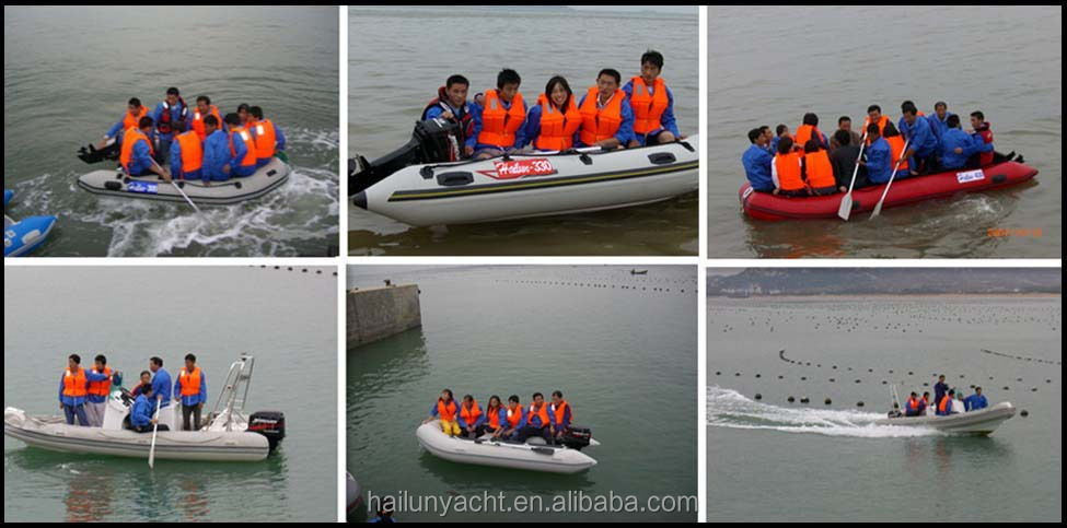 Inflatable raft 10 persons inflatable floating river raft set with pontoon seats made in china HLP430
