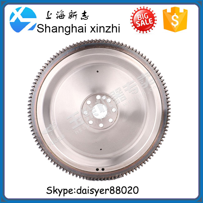 Yuchai engine part YC6108ZQB Flywheel and ring gear assembly A3206-1005360A for Dongfeng Nanchong