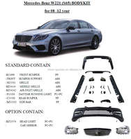 body kit for mercedes benz W221 S65 upgraded body kit for 2008-2012 s300/s350/s500/s400/s600 by maker