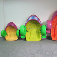 pool toys plastic peddle water hand powered paddle boat
