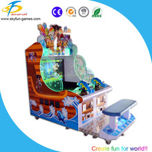 Happy Water shooting Redemption Amusement Machine 2016 Touch Screen Water Shooting Game