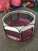 "Hot Selling 45""X45""X23"" Foldable Camping Pet House,Pet Playpen 8 Panel Camping Puppy Dog Tent,Foldable Pet Tent"