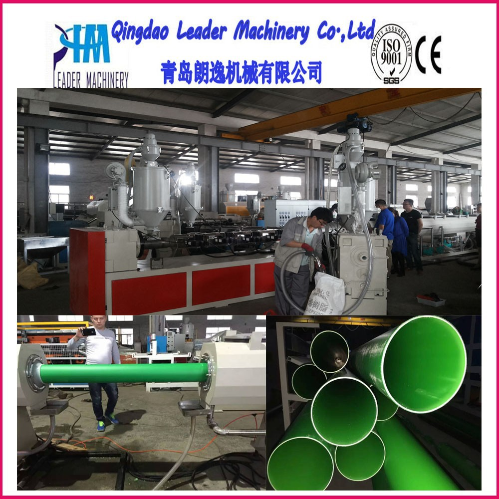 three layers PP PPR PE pipe production line for water supply and drainage