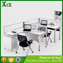 2 people low price Malaysia used standard office furniture / office table / office desk dimensions sell