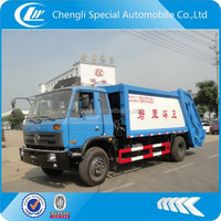 special vehicle manufacturer chengli supply 4x2 garbage compactor vehicle