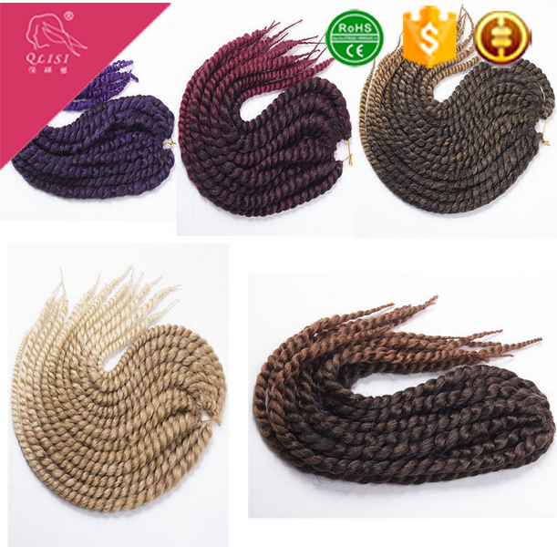 Multi-Color Wholesale Darling Hair Braid Products Kenya Crochet Braid Hair