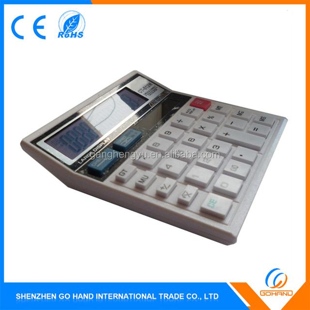 Promotional Gift Solar Scientific Office Desk Top Calculator