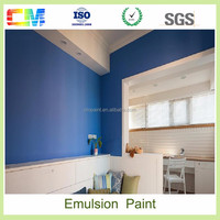 Good price waterbased emulsion paint waterproof to interior wall paint