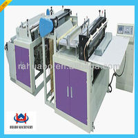 hot full automatic high speed convenient nonwoven fabric bag cutting machine China with high quality and lowest price
