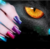 Nail salon 3D effect magic cat eye liquid soak off uv gel nail polish