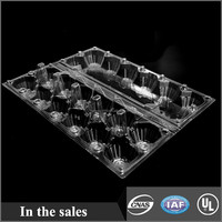 Disposable Plastic Egg Tray 12packs