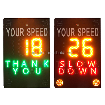 Speed Indicator Device Driver Feedback Signs