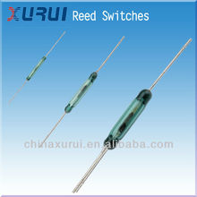 Green Glass reed switch 0.1A 30VDC / Wireless reed switch china supplier