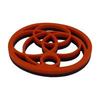 New Coming Flower Silicone Trivets Funny Pot Holder