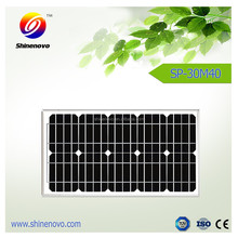 Factory price 30w mono Solar Panel for solar power system
