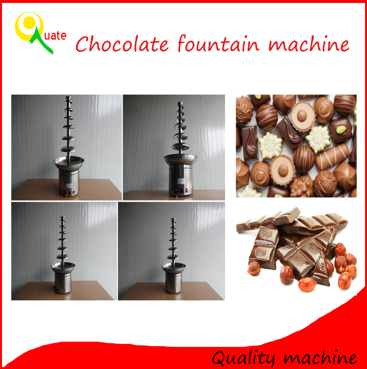 chocolate melting machine/chocolate dipping machine/chocolate fountain