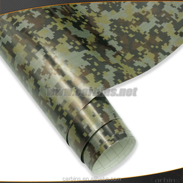 Digital Camouflage Vinyl Wrap for Vehicle, trucks, for hunting