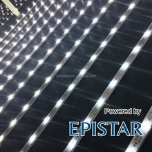 Shenzhen factory oplight easy linking LED rigid strip with lens LED shutter lattice for slim light box