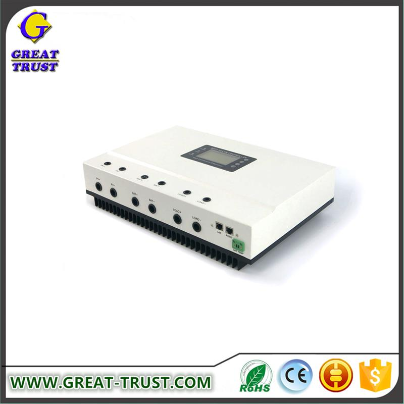 Competitive price 100% 80A,100A outback solar charge controller panel solar controller made in china