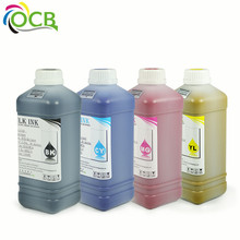 Ocbestjet eco-solvent ink for leather glass shoe printing for mimaki rj 900 outdoor painting