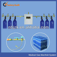 medical oxygen manifold system for medical gas pipeline system