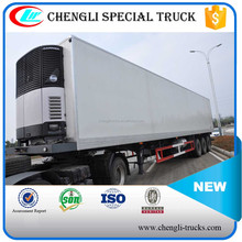 CHENGLI 3 Axle 35Ton 40T Refrigerated Van Cooling Box Truck Trailer
