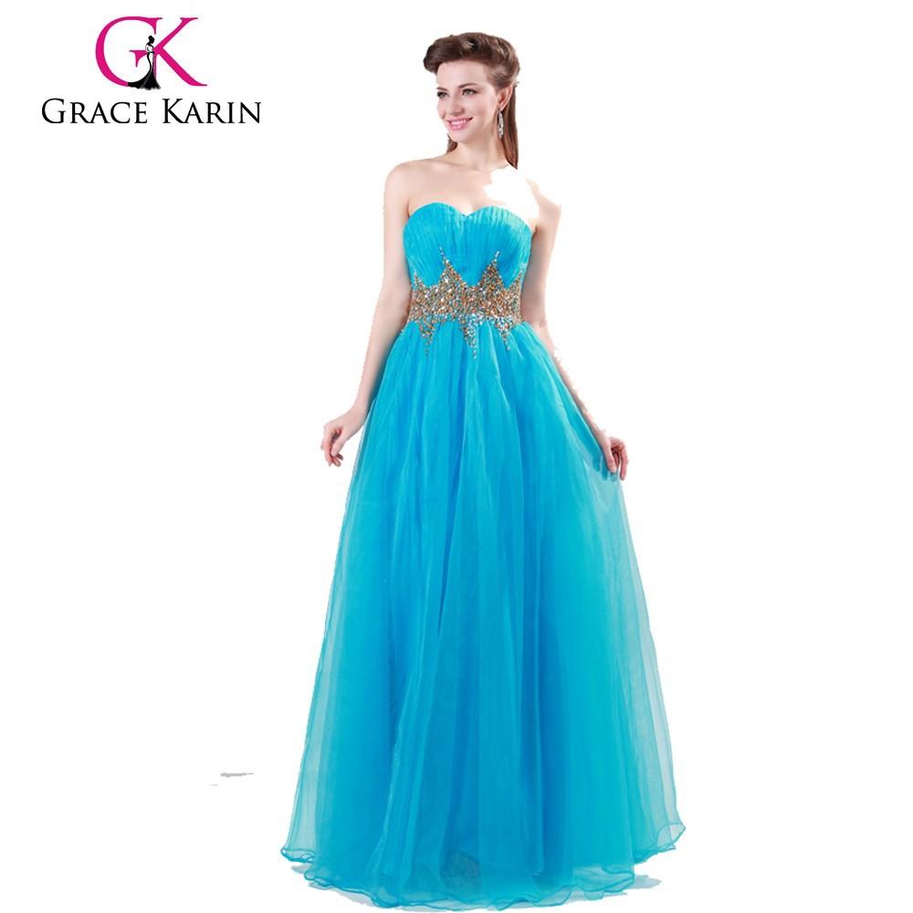 Cheap evening dress manufactures Light Green Ball Gown Evening Prom ...