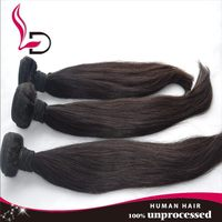 Brazilian 8A Grade 100 Grams Wholesale African Style silky straight Curly Bundles Human Hair Extensions