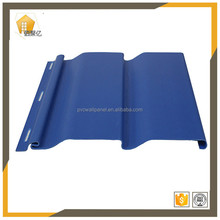 1.0mm thinkness blue plastic kitchen can show installation video wall panels with cheap price