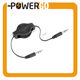 3.5 mm Auxiliary Retractable Audio Cable Cord for iPod/iPhone/Zune/Car Stereo/MP3