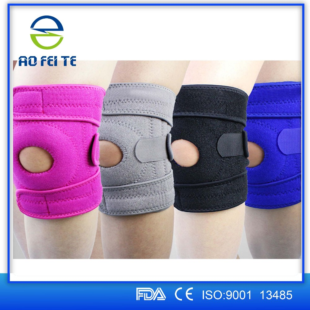Adjustable Neoprene Hinged Knee Brace Patella Compression Support Relief