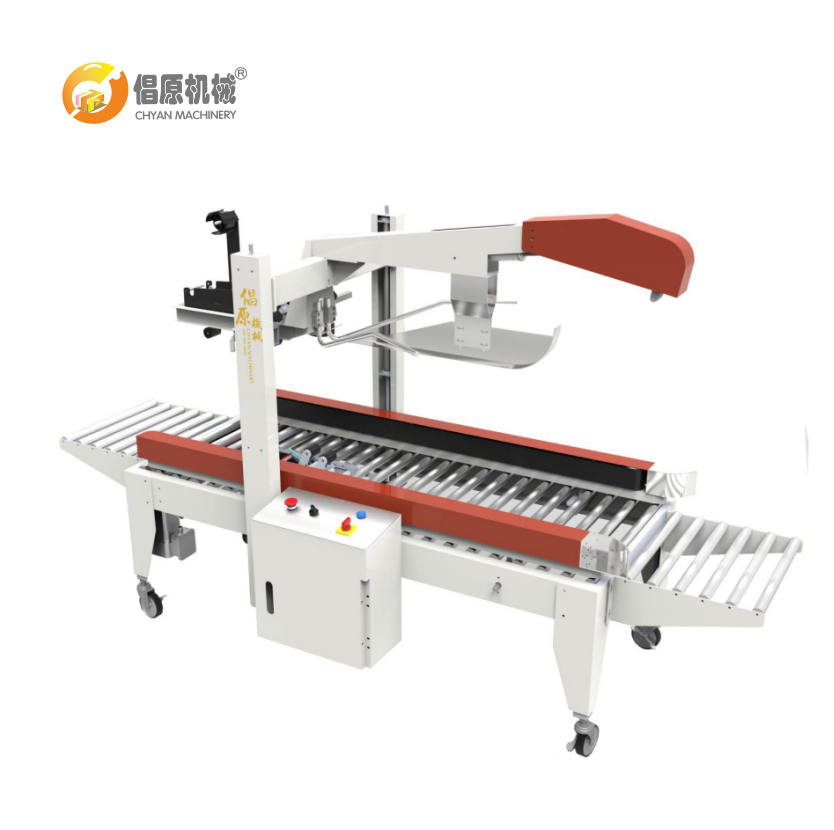 Chyan Stainless Steel material Semi-Automatic Carton box sealer