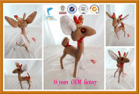 European standard en71 certificated baby toy plush deer toys china wholesale baby toys
