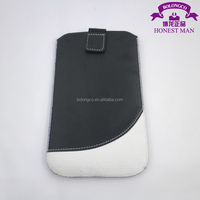 pouch leather case for samsung galaxy s3 mini phone case