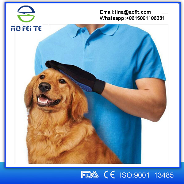 Alibaba Online Shopping Pet Deshedding Tools Grooming Glove