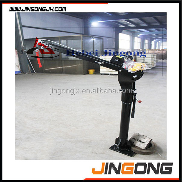 HP-1000 Miniature vehicle- mounted crane with competitive price on sell
