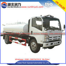 Japense Brand Chassis 8000 Liters Capacity Water Tanker Truck for Sales